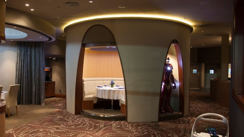 Tony's Skydeck Restaurant Interior Dining Room